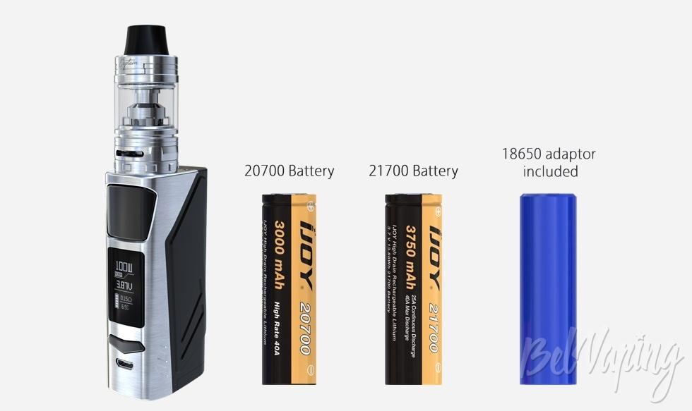 Аккумуляторы IJOY ELITE PS2170 KIT