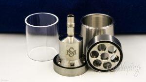Стеклянный и стальной бак клона Kayfun 5² 25mm