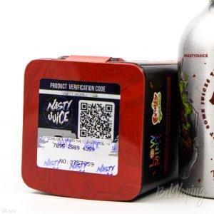 Проверка жидкости Nasty Juice на оригинальность
