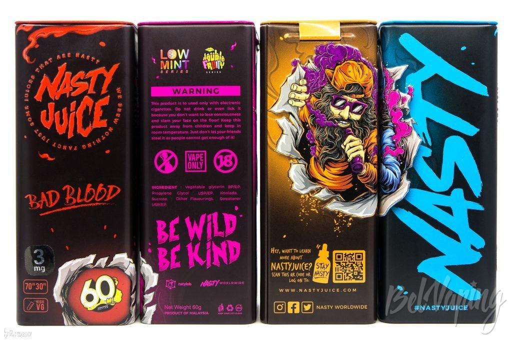 Банка жидкости Nasty Juice (Fuity Series и Double Fruity Series)
