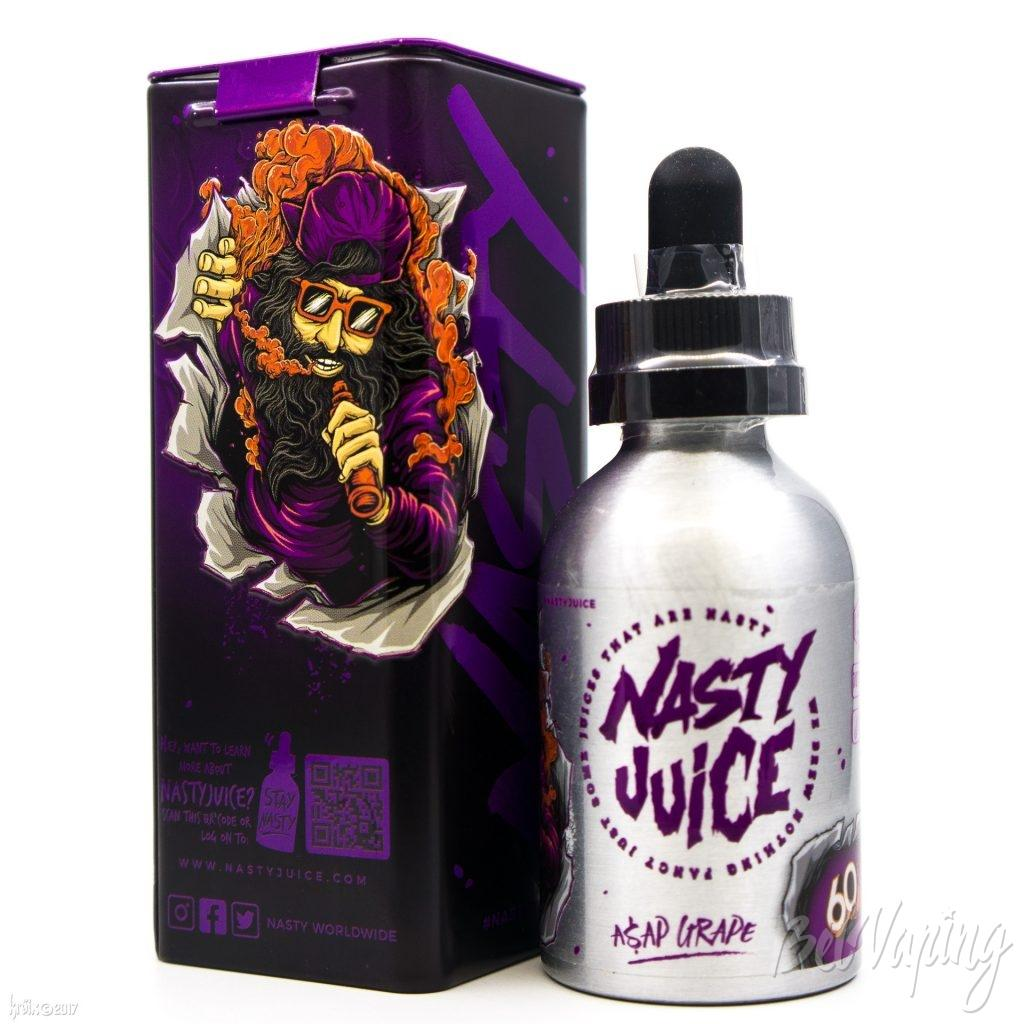 Жидкость Nasty Juice — A$AP Grape (Double Fruity Series)