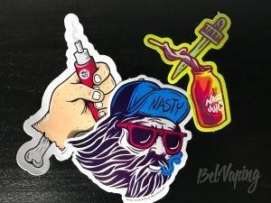 Наклейка Nasty Juice