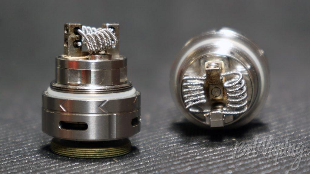 OBS Crius Plus RTA - установка комплектных спиралей