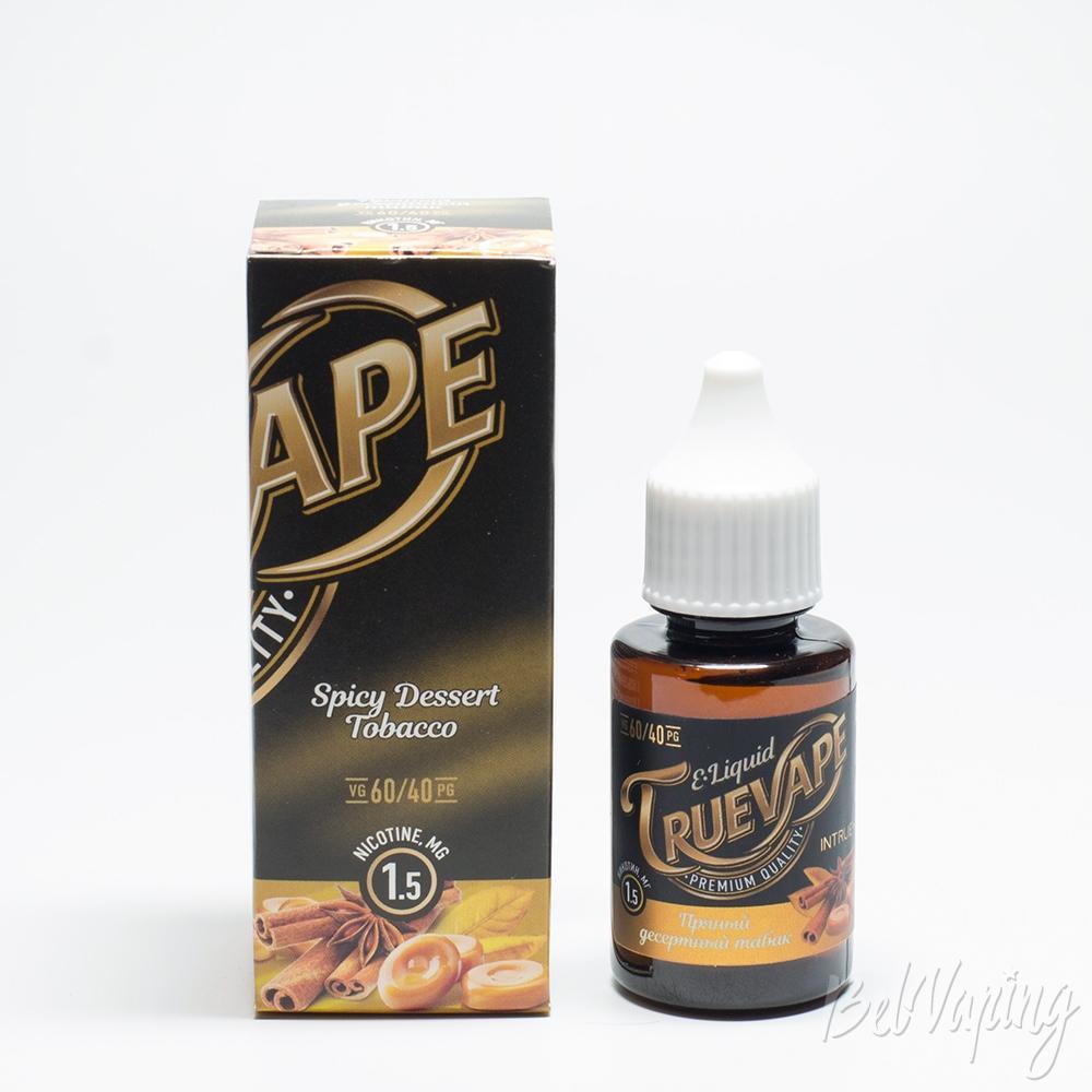 TRUEVAPE Пряный десертный табак