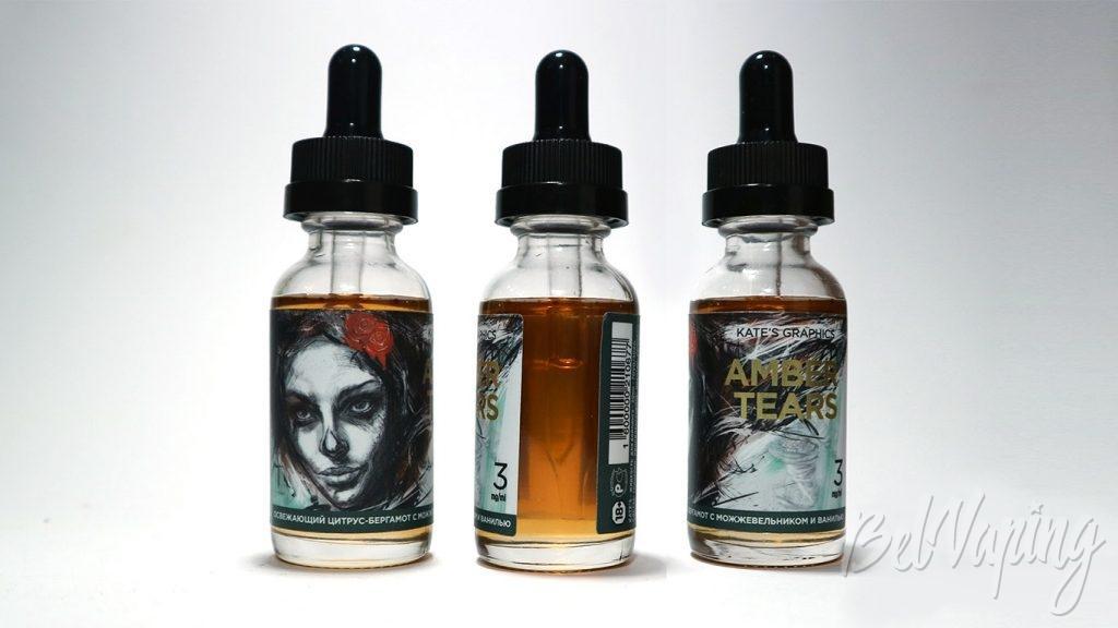 Жидкости Kate's Graphics - вкус Amber Tears