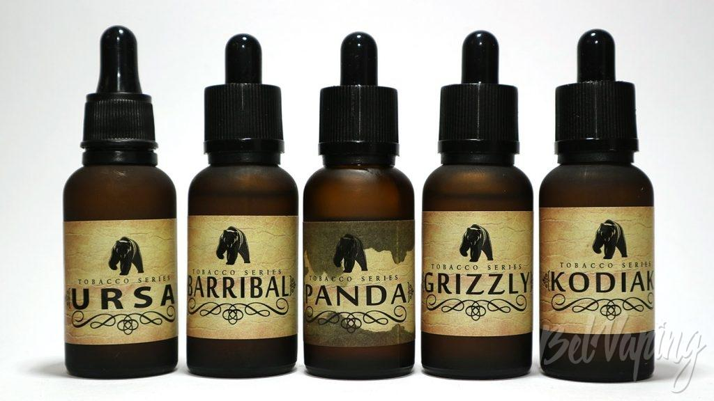 Жидкости The Family of Bears - линейка вкусов