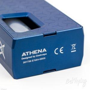 Боксмод Athena Squonk Box снизу