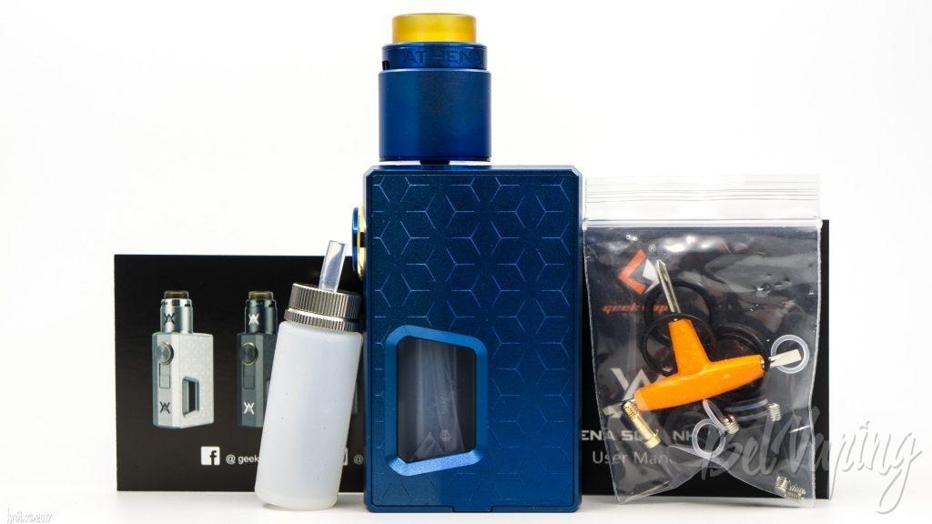 Комплект поставки Athena Squonk Kit