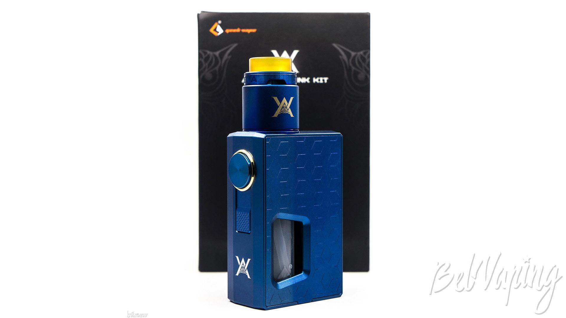 Обзор Athena Squonk Kit
