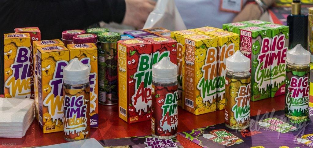 Жидкости Big Time Juice на Vapexpo