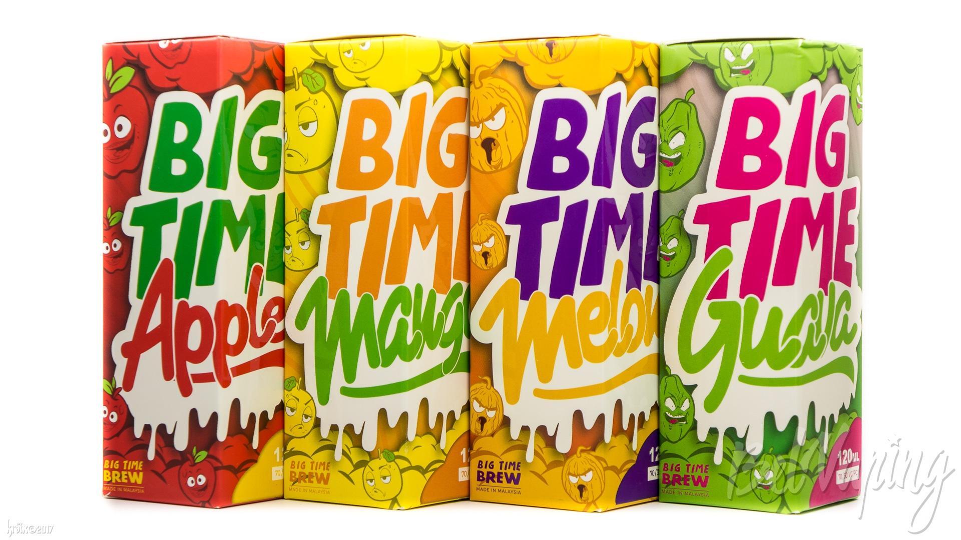 Обзор жидкостей Big Time Juice