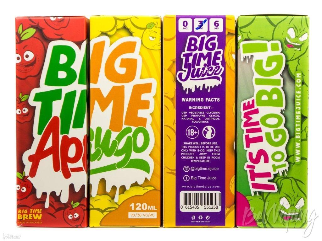 Упаковка жидкости Big Time Juice