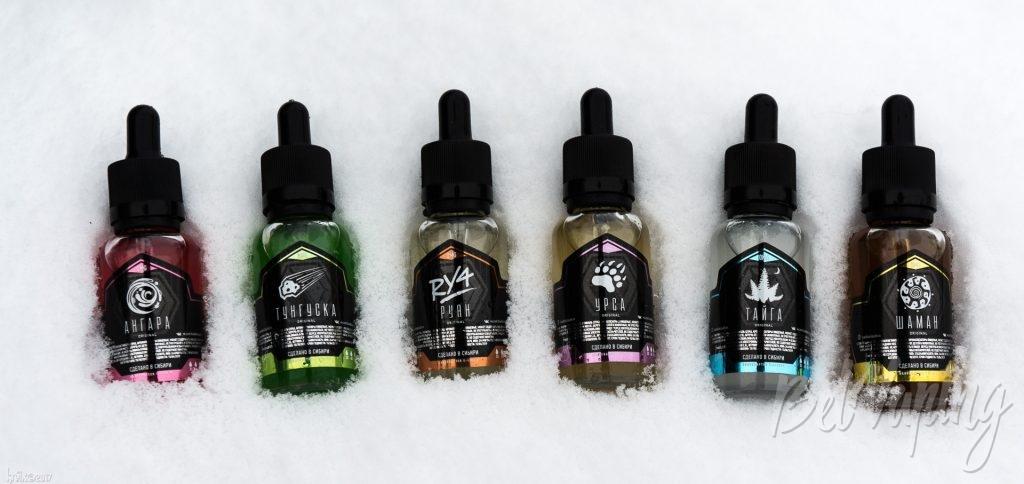 Жидкости Blackbox Liquids: Тунгуска, Тайга, Ангара, Урса, Шаман, RY4
