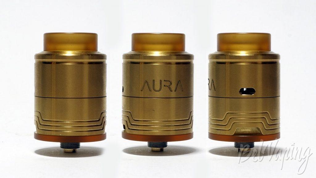 Digiflavor AURA RDA - внешний вид
