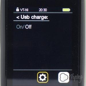 Функция powerbank Joyetech CUBOID Pro