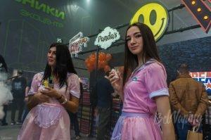 Модели Vapexpo 2017 Moscow