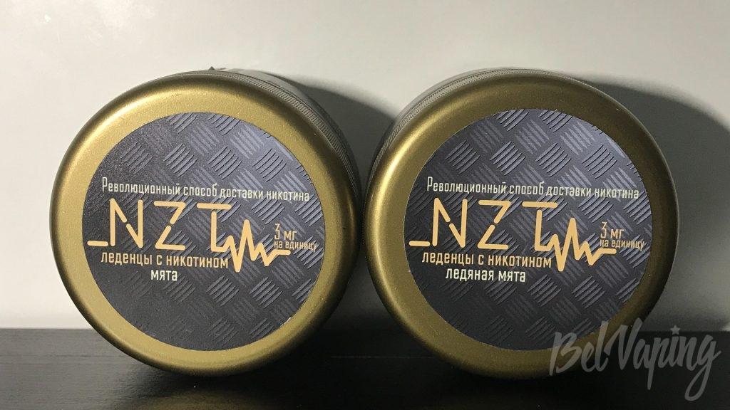 Леденцы с никотином NZT - Мята и Ледяная мята