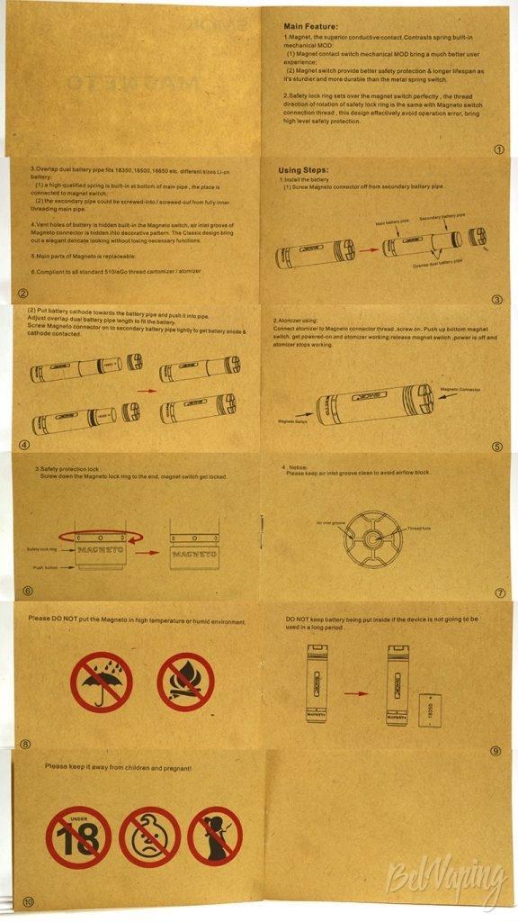 SMOK Magneto - инструкция