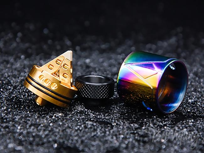 База Smokjoy Pyramid RDA
