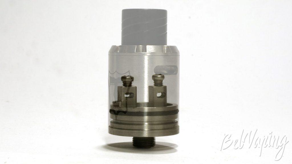Tobeco Torque RDA - стыковка бызы и испарительной камеры