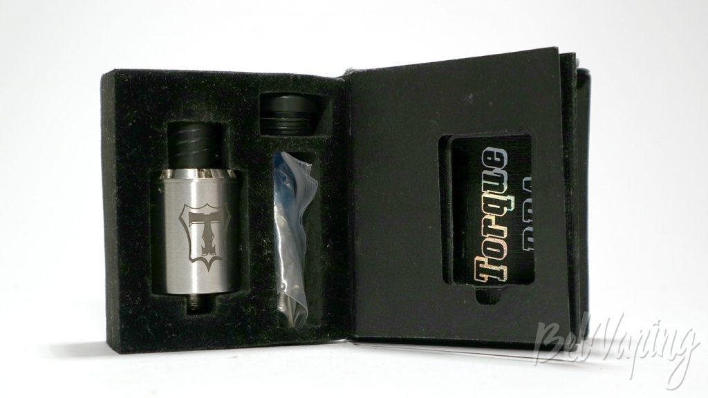 Tobeco Torque RDA - содержимое коробки