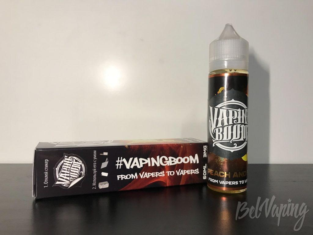 Жидкость Vaping Boom - Peach and Fun