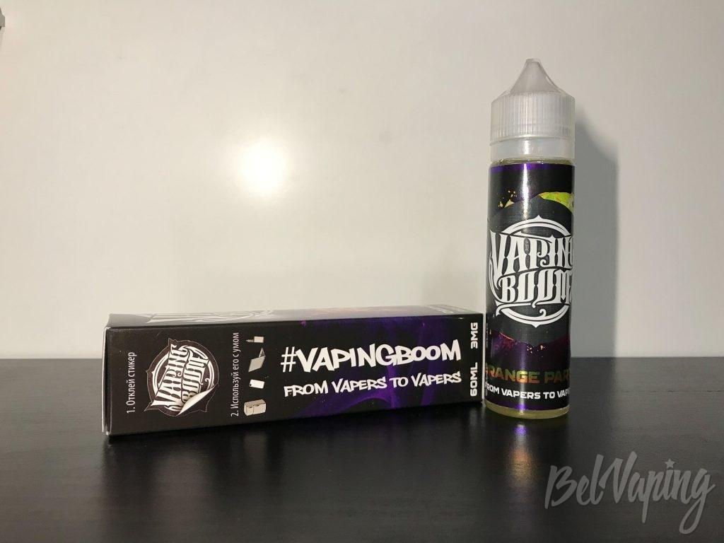 Жидкость Vaping Boom - Orange Party