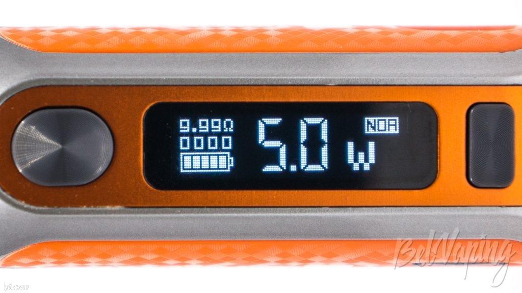 Экран SWAG 80W TC Box Mod