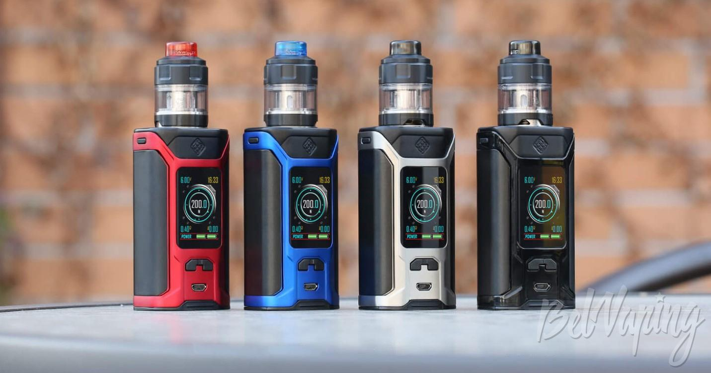 Внешний вид Wismec Sinuous Ravage230