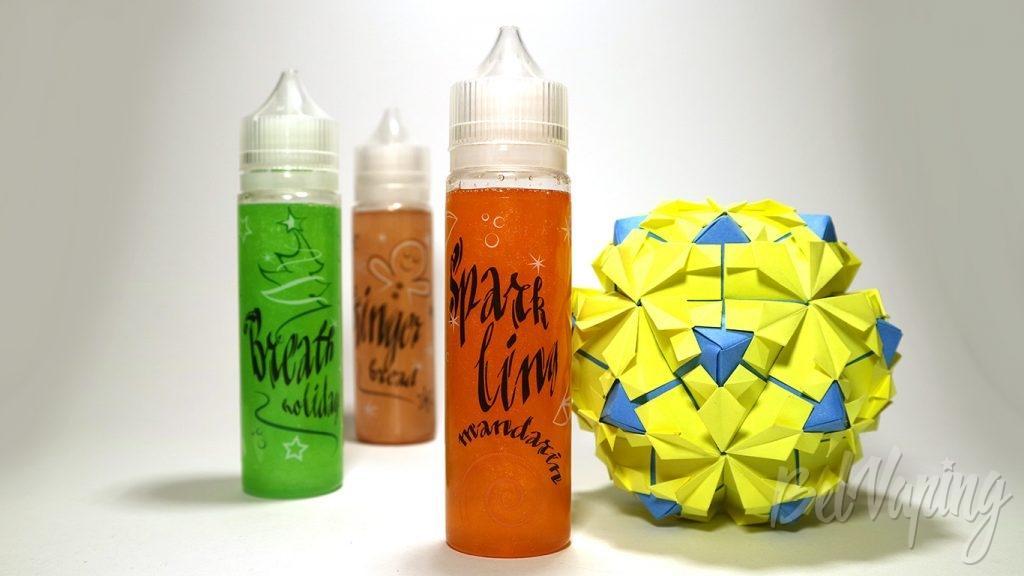 Жидкости Cristmas shine - вкус Sparkling mandarin