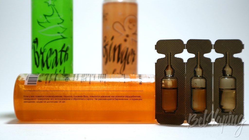 Жидкости Cristmas shine - предупреждения и никобустеры
