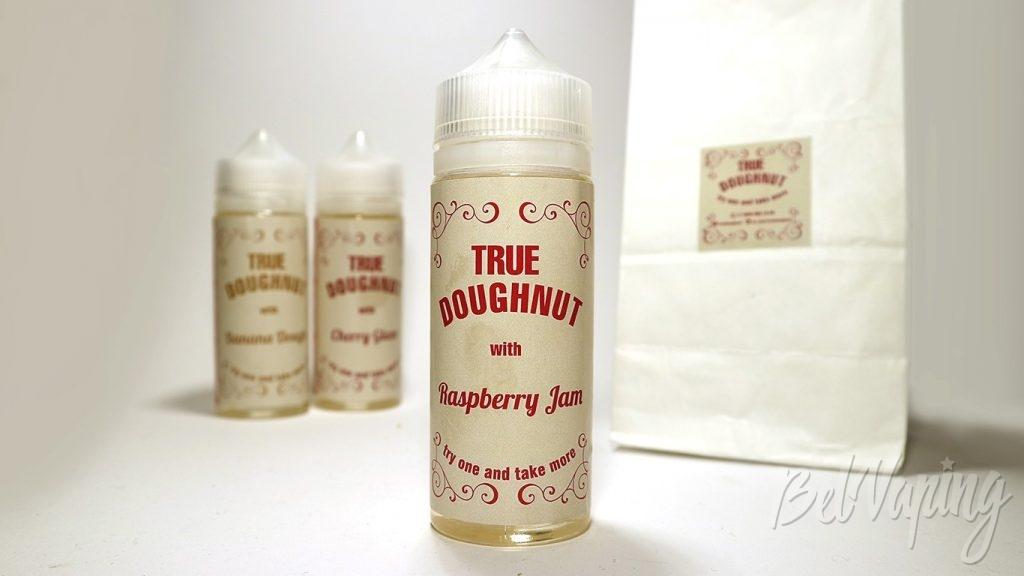 Жидкости True Doughnut - вкус Rapsberry Jam