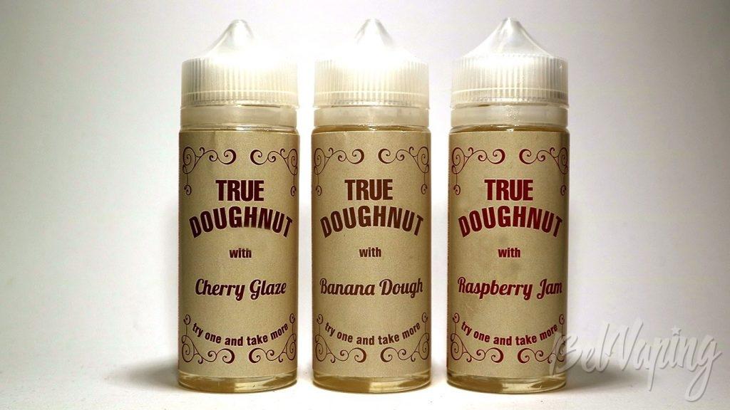 Жидкости True Doughnut - линейка вкусов