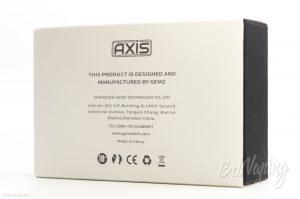 Упаковка Axis RTA от Gemz