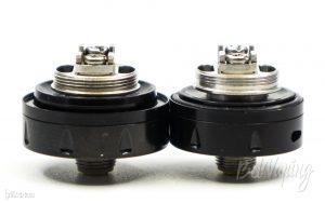 База Berserker MTL RTA 24мм (слева) и Berserker Mini MTL RTA 22мм