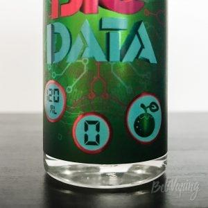 Этикетка жидкости Big Data