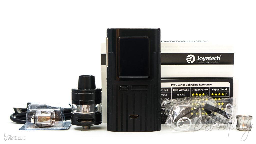 Комплектация набора ESPION 200W with ProCore X TC Kit
