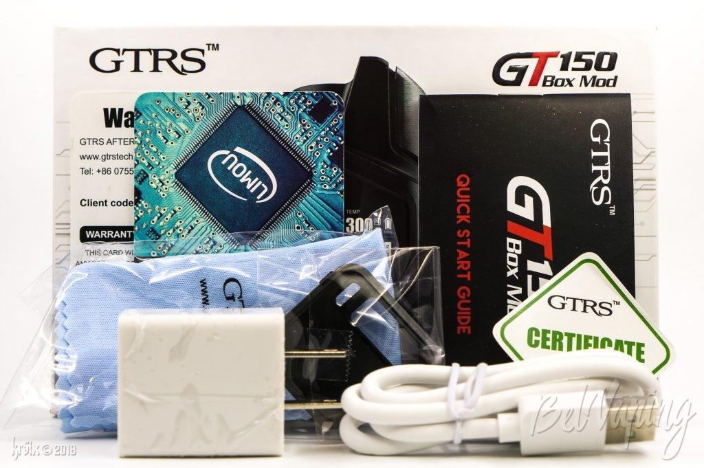 Комплектация GTRS GT150