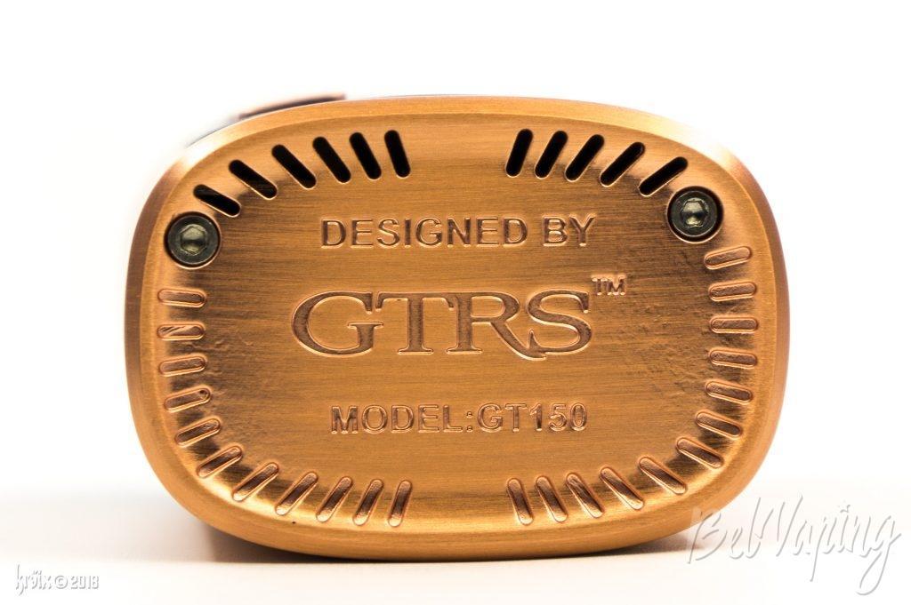 Внешний вид GTRS GT150 снизу