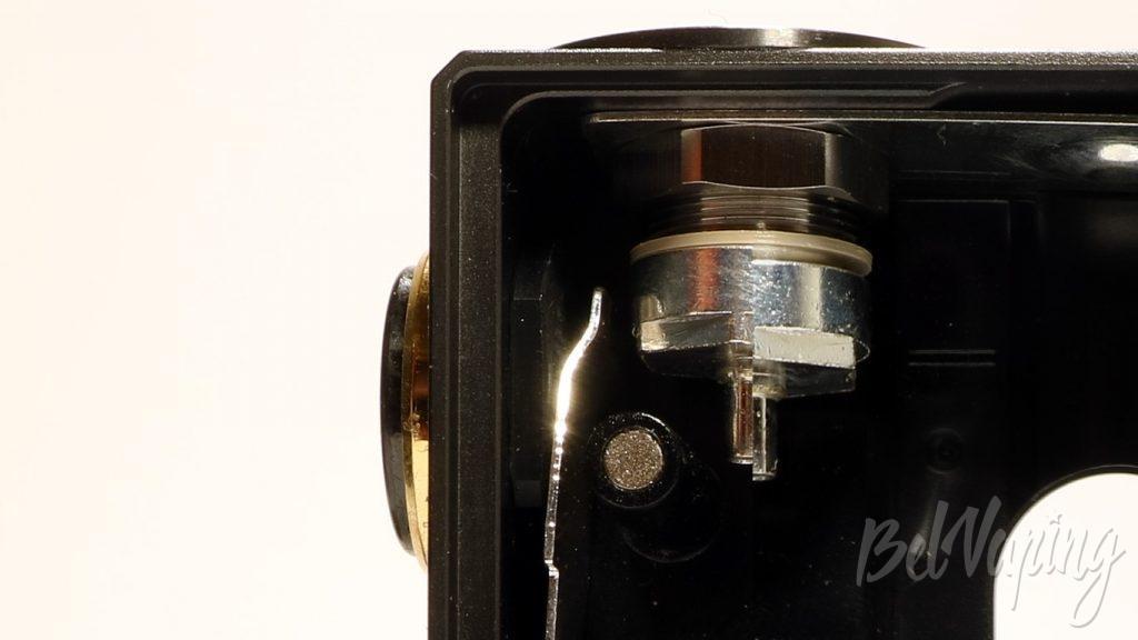 Geekvape Athena squonk kit - подстройка коннектора