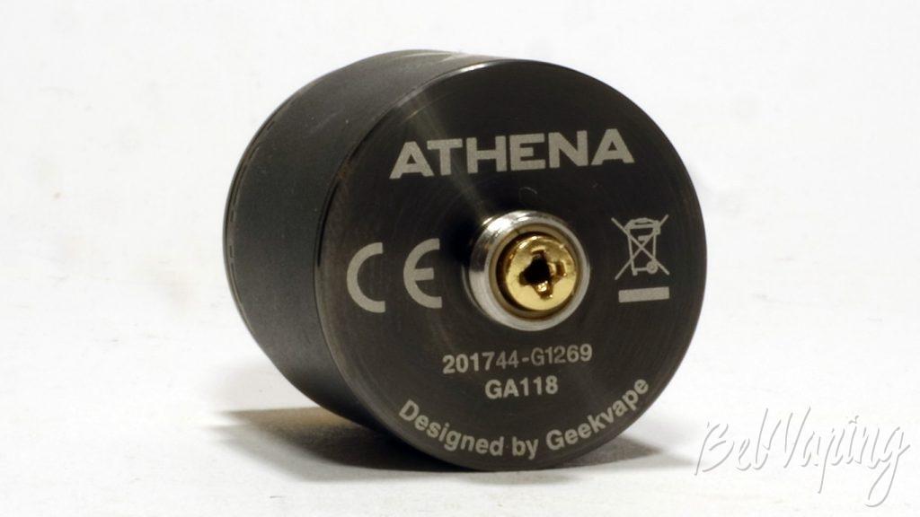 Geekvape Athena squonk kit - RDA, вид снизу