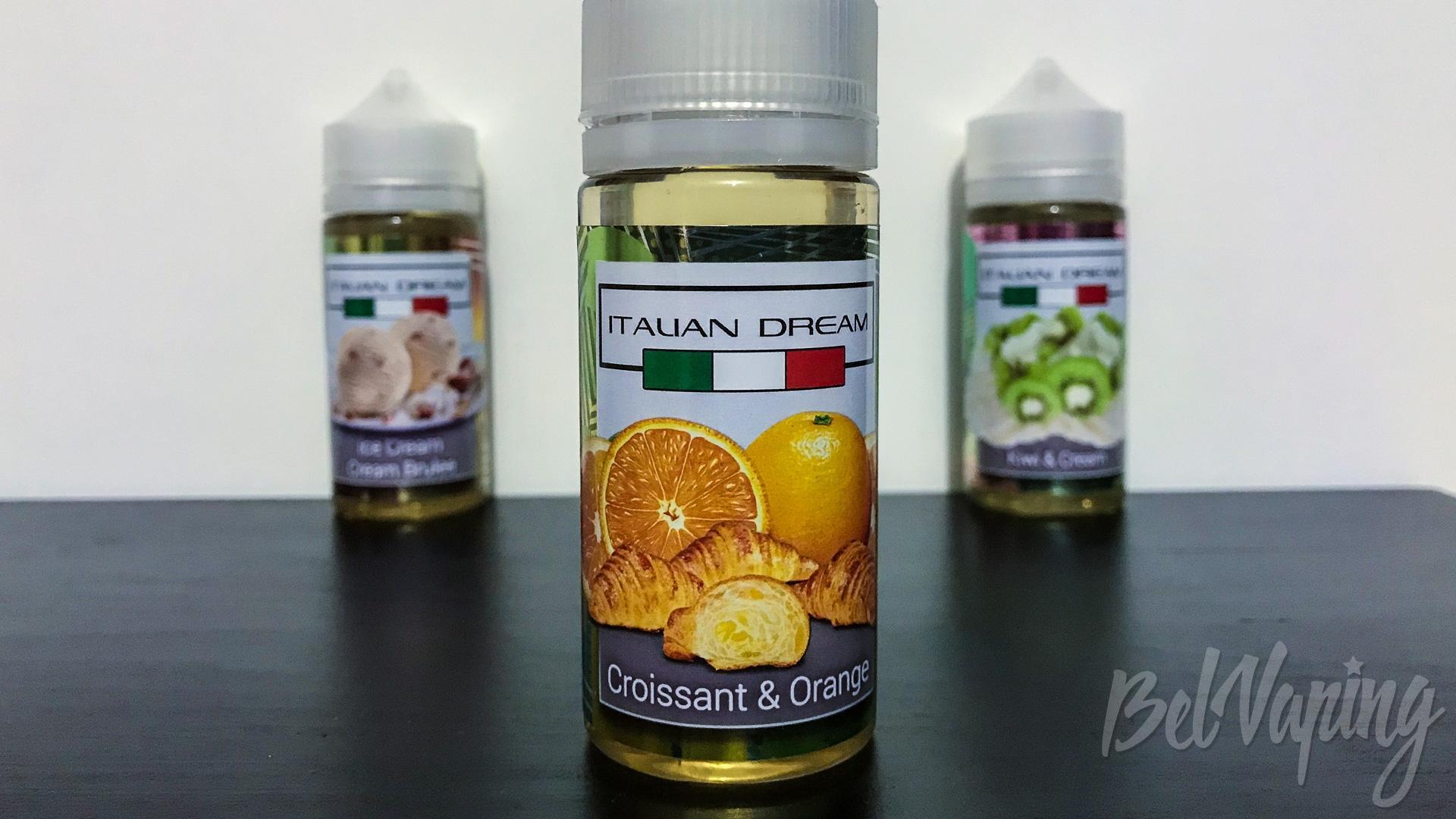 Обзор жидкости Italian Dream