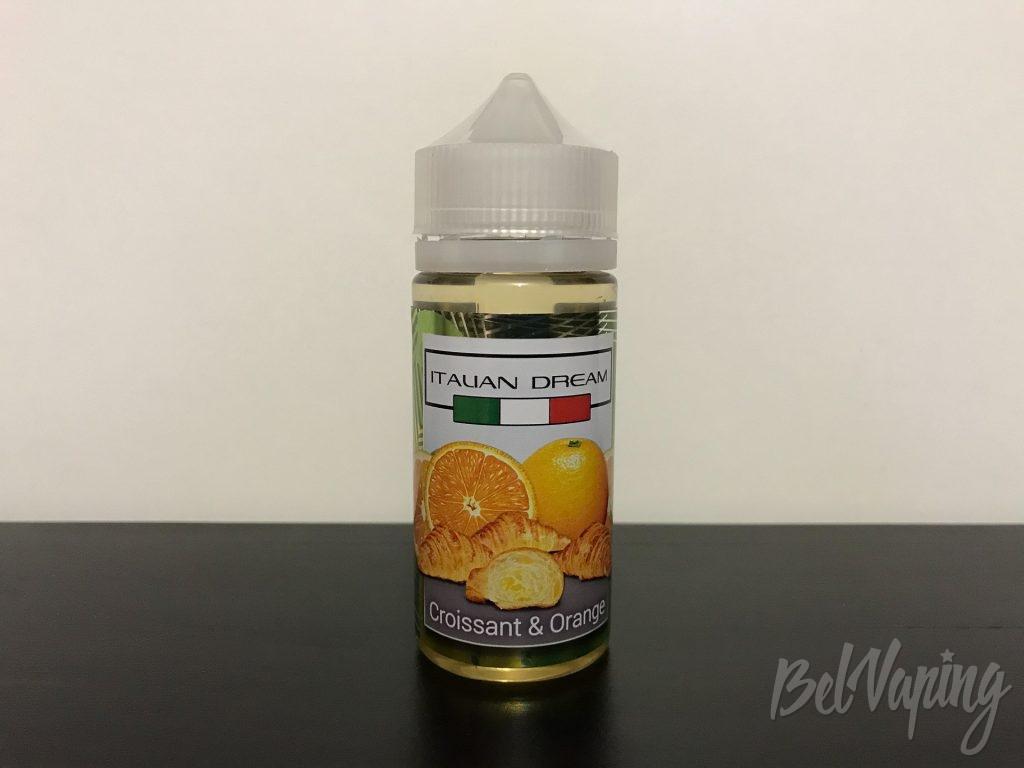 Жидкость Italian Dream - Croissant & Orange