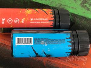 Этикетка обновленной жидкости Reckless от Glitch Sauce