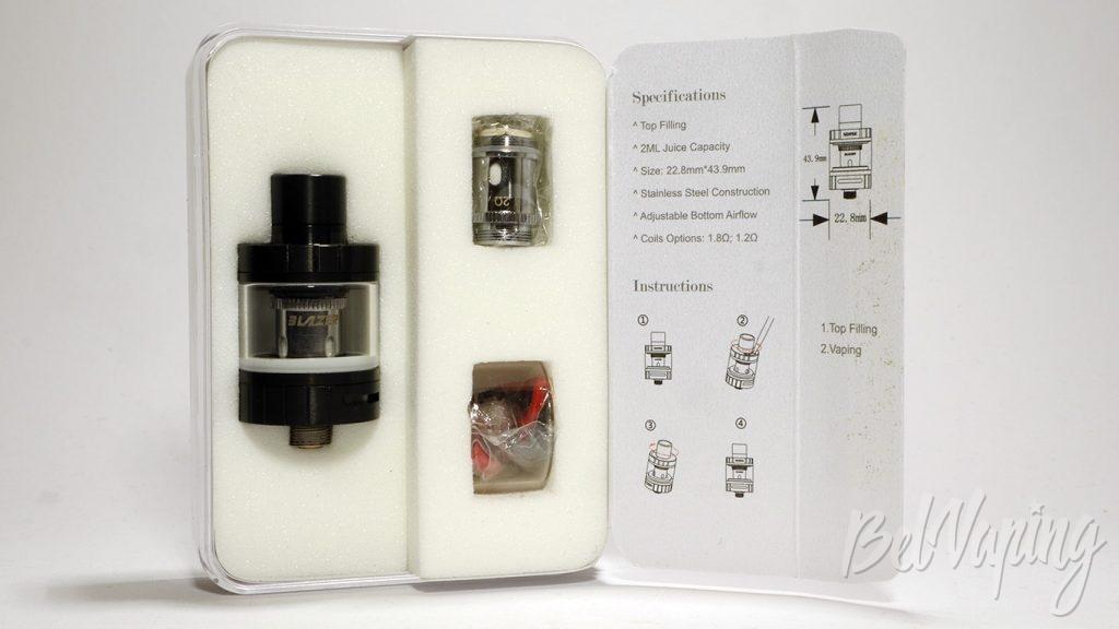 SENSE Blazer Nano by Cigret - что в коробке