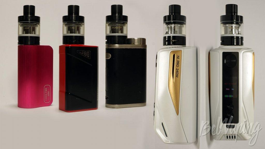 SENSE Blazer Nano by Cigret - вид на разных устройствах