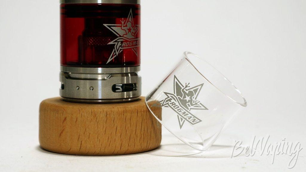 Vapio Frogman XL Tank - стекло