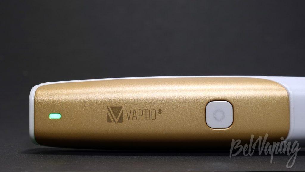 Vaptio C-FLAT KIT - кнопка и индикатор