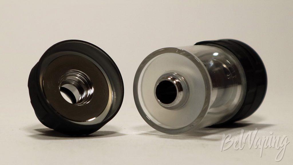Vaptio C-II TANK - крышка и заправочный клапан