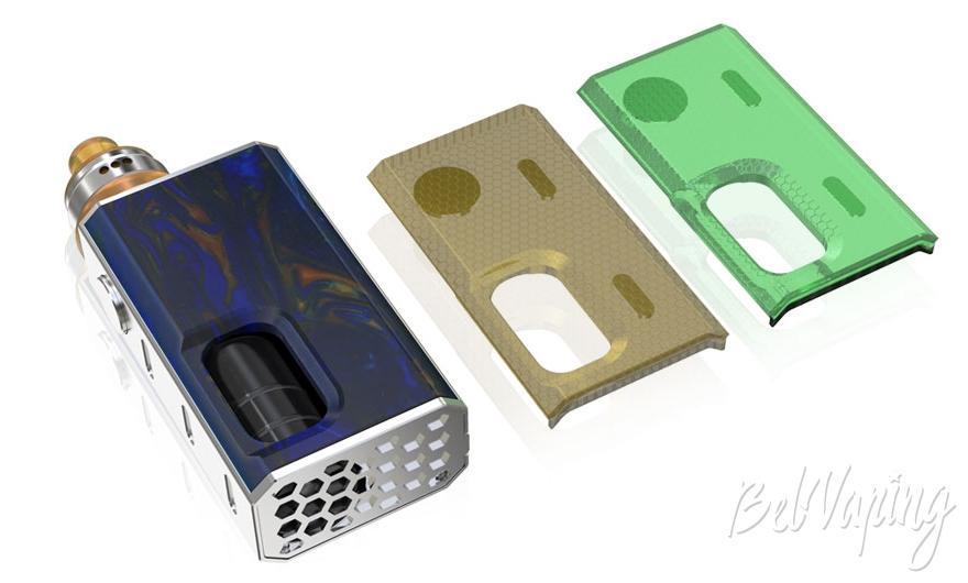 Сменные панели Wismec Luxotic BF Squonk Box kit